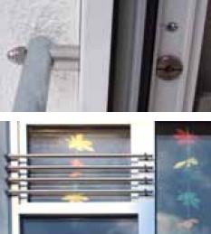 Външни предпазни парапети за прозорци